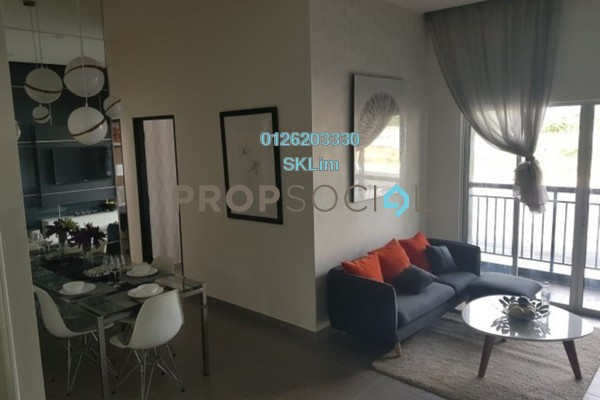 For Sale Condominium at Kristal Villa, Kajang Freehold Unfurnished 3R/2B 280k
