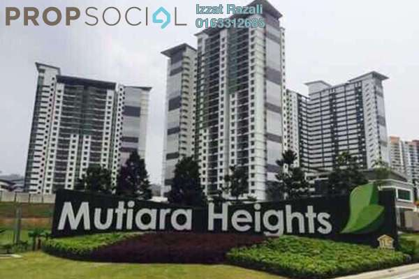 For Sale Condominium at Ivory Residence, Kajang Freehold Unfurnished 3R/2B 445k