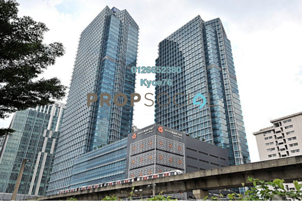 For Rent Office at Menara Kembar Bank Rakyat, KL Sentral Freehold Unfurnished 0R/0B 29.9k