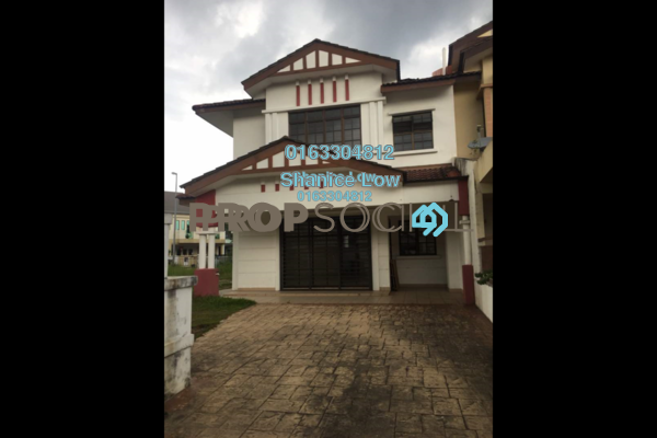For Sale Terrace at Puteri 6, Bandar Puteri Puchong Freehold Semi Furnished 4R/3B 2.2m