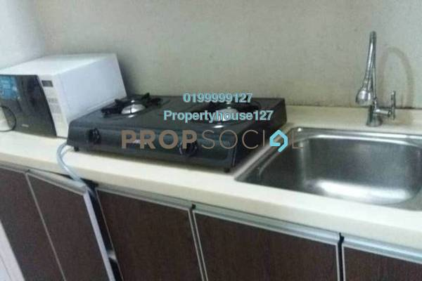 For Rent SoHo/Studio at Residency Mutiara, Brickfields Freehold Fully Furnished 1R/1B 1.75k