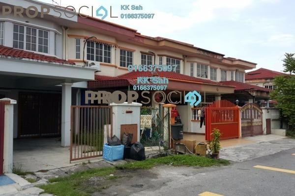 For Sale Link at Taman Sentosa, Klang Freehold Semi Furnished 4R/3B 388k
