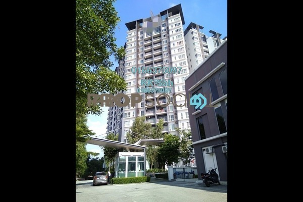 For Sale Condominium at The iResidence, Bandar Mahkota Cheras Freehold Fully Furnished 3R/2B 490k