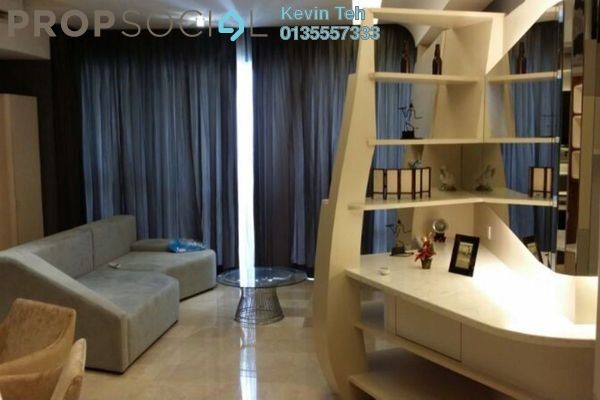 For Sale Condominium at VERVE Suites, Mont Kiara Freehold Fully Furnished 2R/2B 1.25m