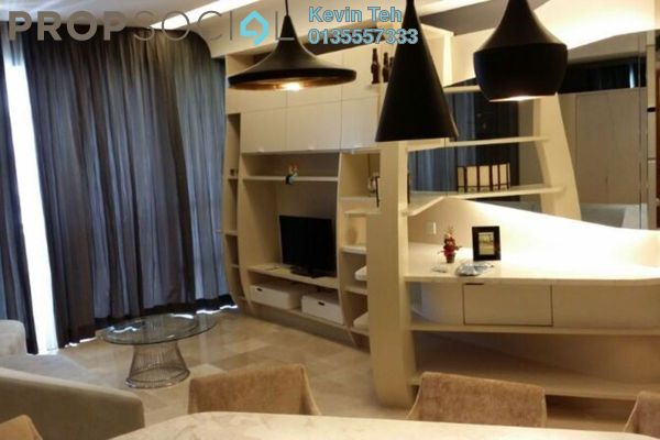 For Rent Condominium at VERVE Suites, Mont Kiara Freehold Fully Furnished 2R/2B 4.6k