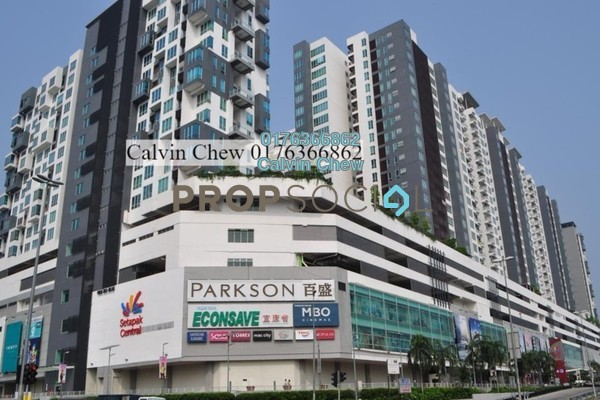 For Sale Condominium at The Loft @ ZetaPark, Setapak Freehold Unfurnished 0R/0B 702k