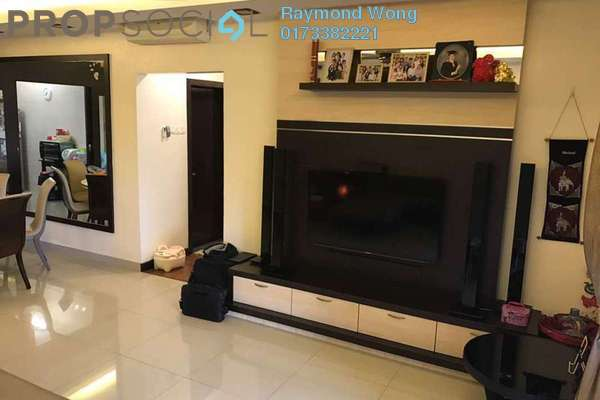 For Sale Condominium at Zen Residence, Puchong Freehold Semi Furnished 4R/2B 555k