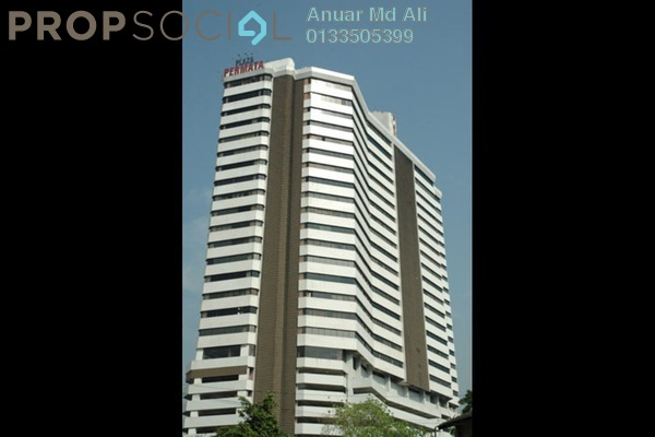 For Sale Office at Plaza Permata, Sentul Freehold Fully Furnished 0R/0B 750k