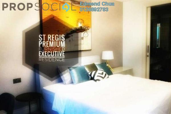 For Sale Serviced Residence at St Regis Residences, KL Sentral Freehold Fully Furnished 1R/1B 2.5m