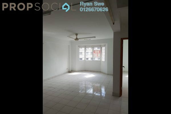 For Sale Apartment at Aman Puri, Kepong Freehold Semi Furnished 3R/2B 285k