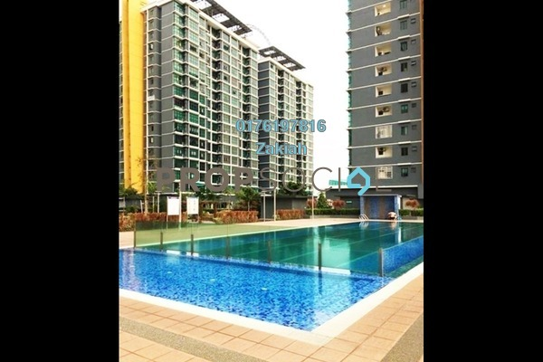 For Rent Condominium at Vista Alam, Shah Alam Freehold Semi Furnished 3R/2B 2.3k