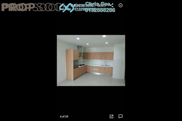 For Sale Condominium at Setia Sky Residences, KLCC Freehold Semi Furnished 2R/3B 1.1m
