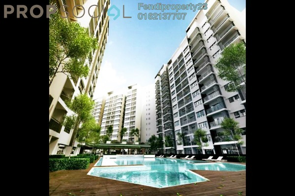 For Rent Condominium at Suria Ixora, Setia Alam Freehold Fully Furnished 3R/2B 700translationmissing:en.pricing.unit