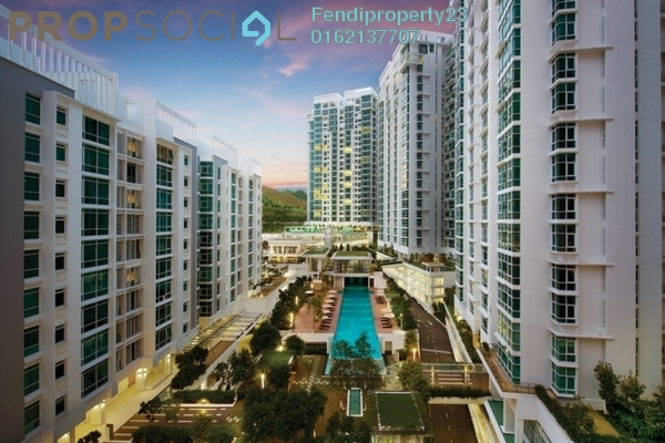 For Rent Condominium at Sunway Vivaldi, Mont Kiara Freehold Fully Furnished 4R/4B 8.9k