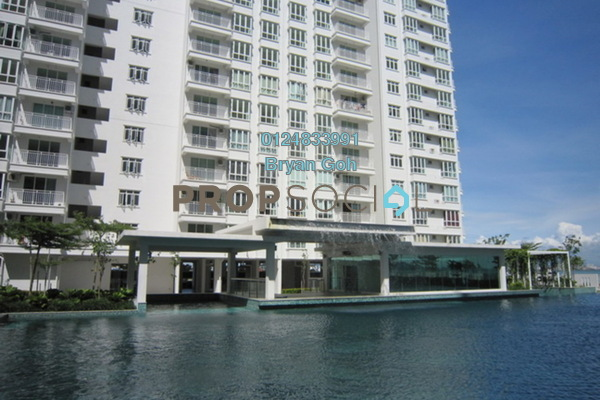 For Rent Condominium at Summer Place, Jelutong Freehold Fully Furnished 3R/2B 1.95k