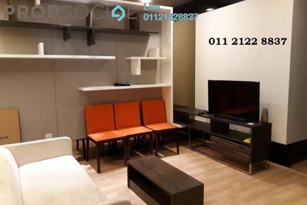 For Rent Condominium at VERVE Suites, Mont Kiara Freehold Fully Furnished 1R/1B 2.7k