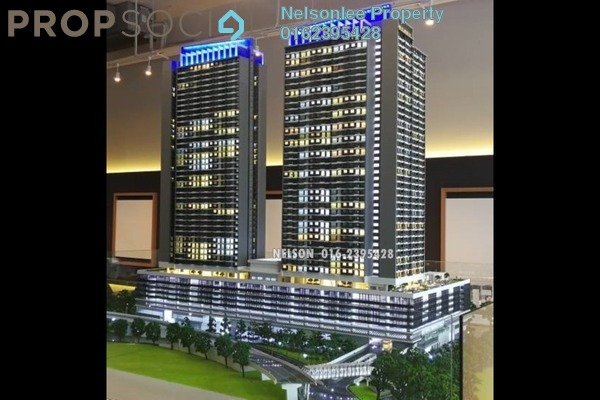 For Sale Condominium at Majestic Maxim, Cheras Leasehold Unfurnished 2R/2B 312k