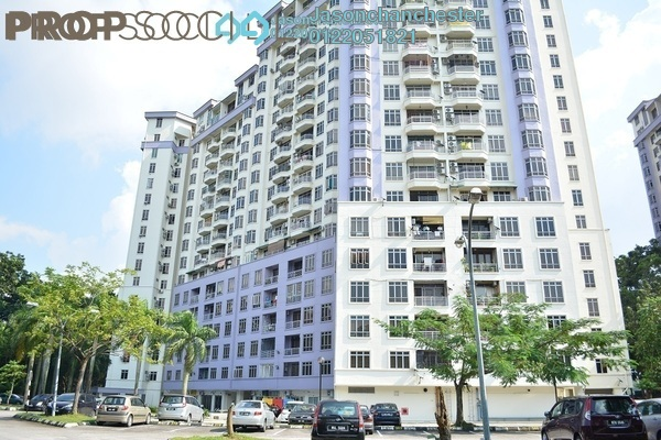 For Sale Condominium at Impian Heights, Bandar Puchong Jaya Freehold Semi Furnished 3R/2B 420k