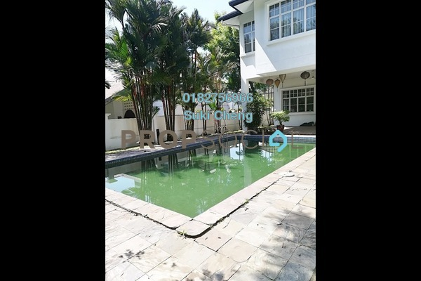For Rent Bungalow at Bukit Tunku, Kenny Hills Freehold Semi Furnished 5R/5B 13k
