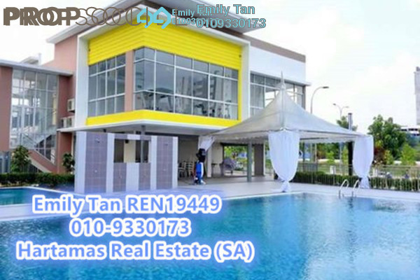 For Sale Apartment at Seri Pinang Apartment, Setia Alam Freehold Unfurnished 3R/2B 280k