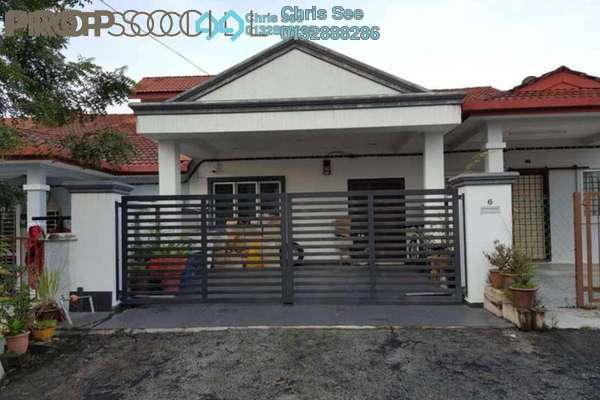 For Sale Terrace at Saujana Puchong, Puchong Freehold Semi Furnished 3R/2B 450k