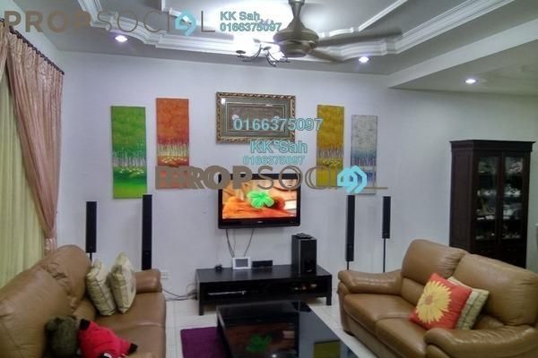 For Sale Link at Section 2, Bandar Mahkota Cheras Freehold Semi Furnished 4R/3B 738k
