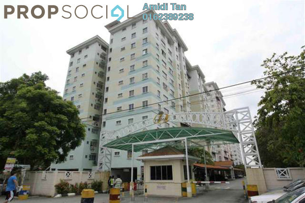 For Sale Apartment at Vista Prima, Puchong Freehold Semi Furnished 3R/2B 280k