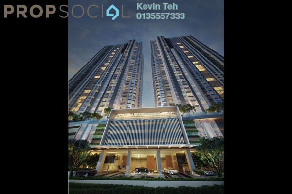 For Rent Condominium at South View, Bangsar South Freehold Fully Furnished 2R/2B 3.3k