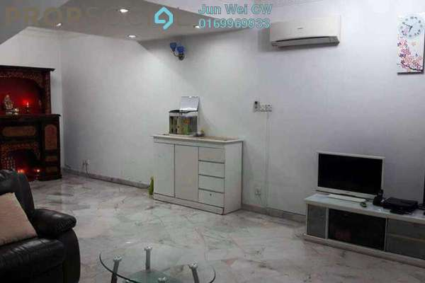 For Sale Terrace at Taman Sentosa, Klang Freehold Semi Furnished 4R/3B 418k