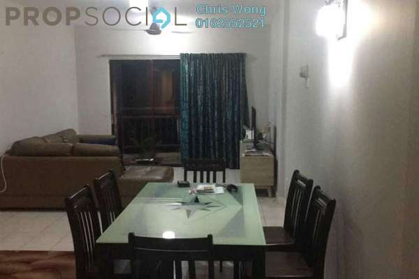 For Sale Condominium at Villamas, Sungai Buloh Leasehold Semi Furnished 3R/2B 570k