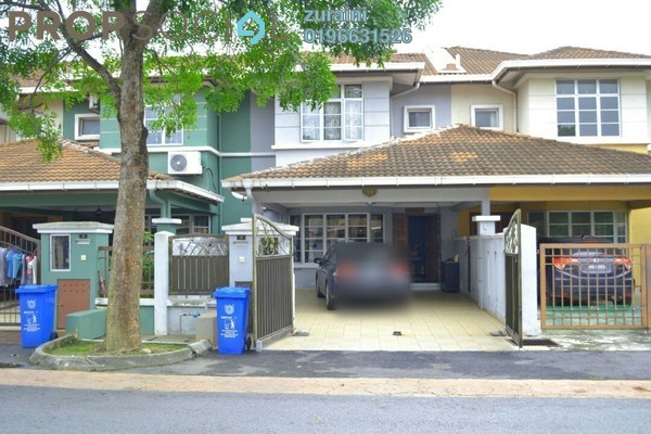 For Sale Terrace at Desa Latania, Shah Alam Freehold Fully Furnished 4R/3B 500k