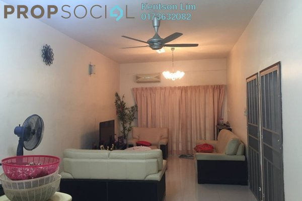 For Sale Terrace at Taman Rainbow, Jalan Ipoh Freehold Semi Furnished 6R/4B 1.1m