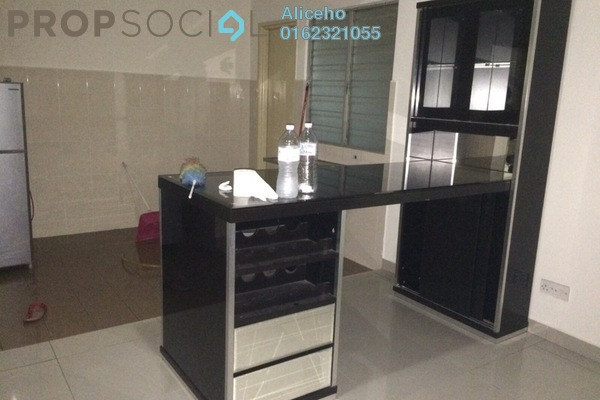For Rent Condominium at Nilam Puri, Bandar Bukit Puchong Freehold Semi Furnished 3R/2B 1.2Ribu
