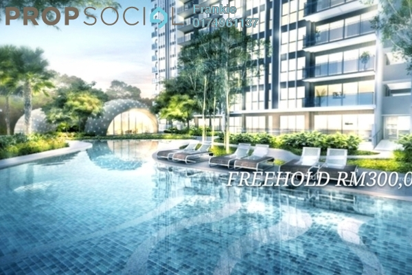 For Sale Condominium at M Centura, Sentul Freehold Unfurnished 2R/1B 300k
