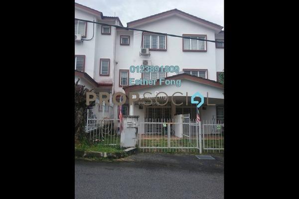 For Rent Terrace at Taman Bukit Permata, Batu Caves Freehold Semi Furnished 4R/4B 1.3k