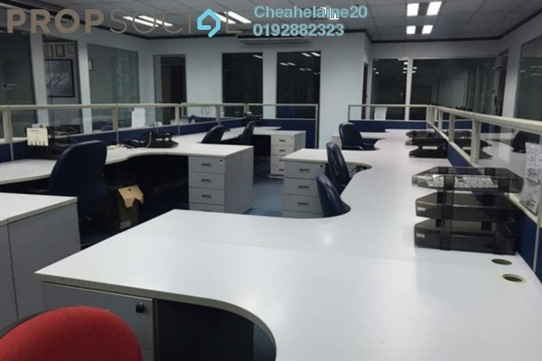 For Rent Office at SD10, Bandar Sri Damansara Freehold Semi Furnished 0R/2B 5.5k