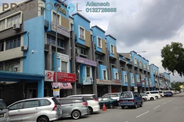 For Rent Shop at Taman Mastiara, Jalan Ipoh Freehold Unfurnished 0R/1B 1.7k
