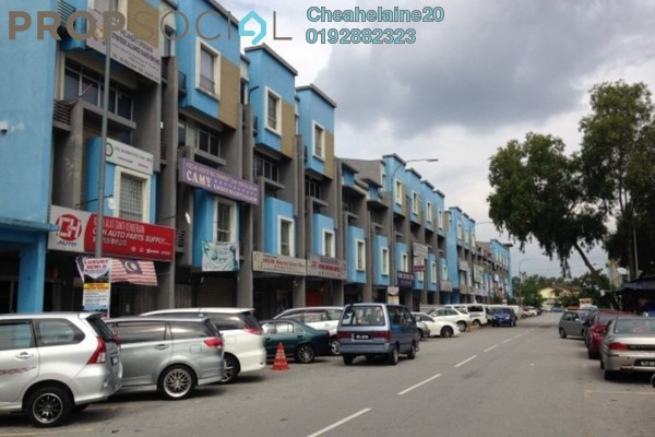 For Rent Shop at Taman Mastiara, Jalan Ipoh Freehold Unfurnished 0R/1B 1.7k