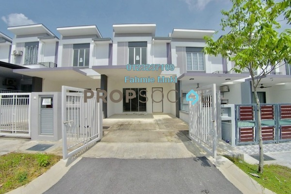 For Sale Terrace at Bandar Tasik Puteri, Rawang Leasehold Unfurnished 4R/3B 420k