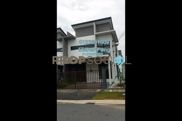 For Rent Terrace at Saujana Rawang, Rawang Freehold Semi Furnished 4R/3B 1k