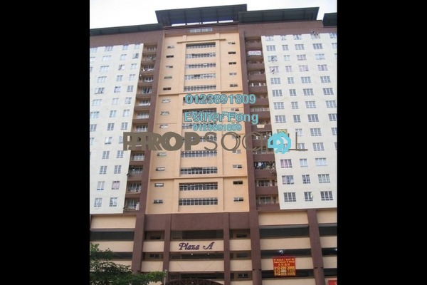 For Rent Condominium at Plaza Metro Prima, Kepong Freehold Semi Furnished 4R/2B 1.6k