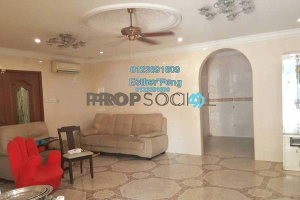 For Sale Terrace at Taman Sri Rampai, Setapak Freehold Semi Furnished 4R/3B 890k