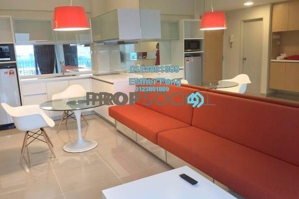 For Rent Condominium at Dex @ Kiara East, Jalan Ipoh Freehold Fully Furnished 2R/1B 1.8k