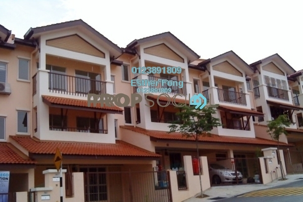 For Sale Townhouse at Amansiara, Selayang Freehold Semi Furnished 3R/2B 380k