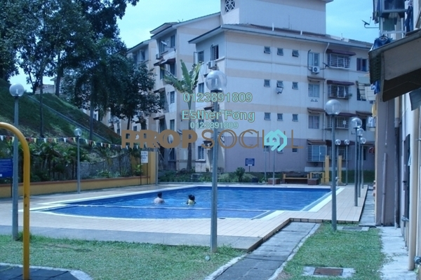 For Rent Apartment at Saujana Apartment, Damansara Damai Freehold Semi Furnished 3R/2B 850translationmissing:en.pricing.unit