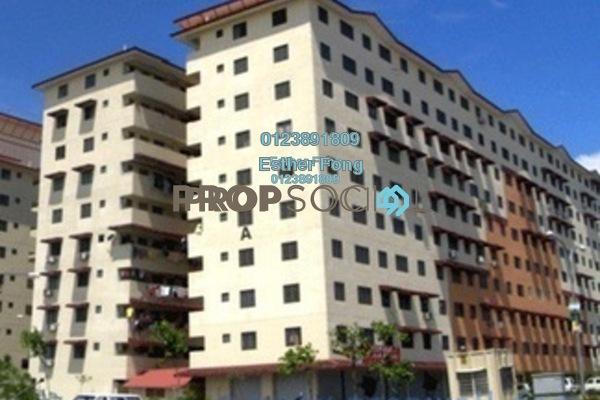For Sale Apartment at Taman Aman Putra, Jinjang Freehold Semi Furnished 3R/2B 168k