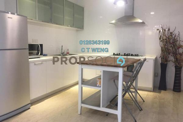 For Rent Condominium at Idaman Residence, KLCC Freehold Fully Furnished 3R/5B 6k