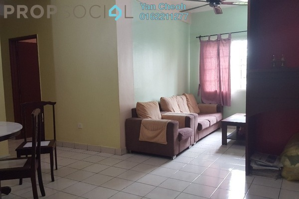 For Sale Apartment at Seri Galaksi Apartment, Subang Freehold Semi Furnished 3R/2B 305k