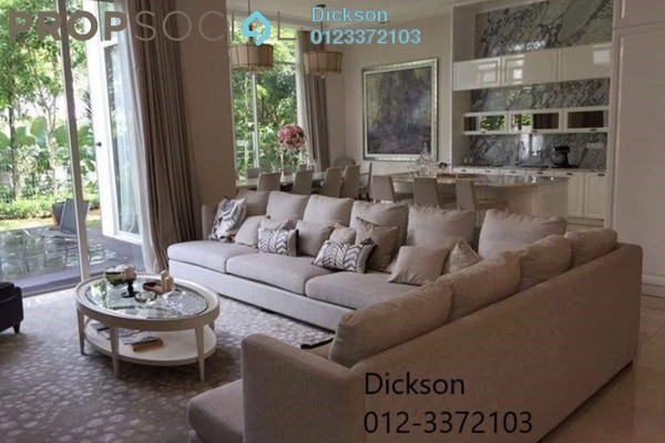 For Sale Bungalow at Park Manor, Sungai Buloh Freehold Semi Furnished 6R/5B 4m