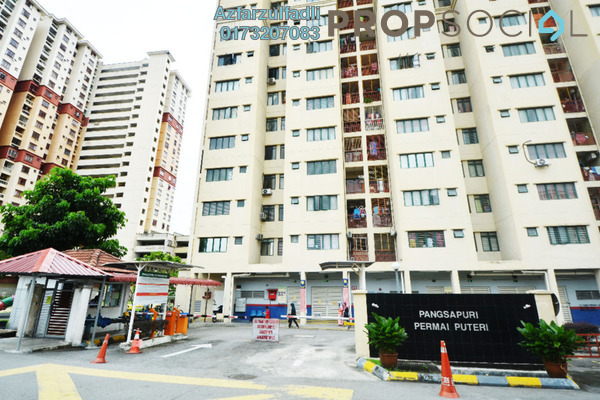 For Sale Apartment at Permai Puteri, Ampang Freehold Unfurnished 3R/2B 350k